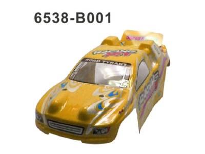 6538-B001 RC Cars Karosserie Gelb