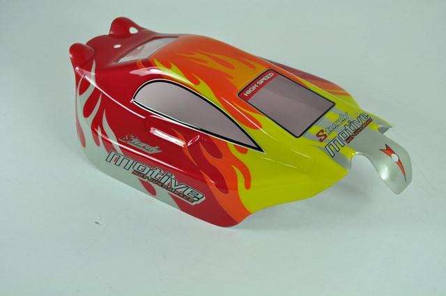6528A-B001 RC Cars Karosserie Schwarz