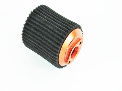 050040 Luftfilter Aluminium orange