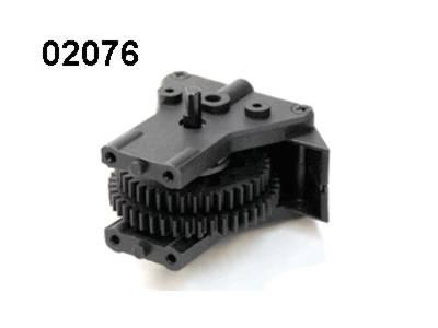 02076 2-Gang Getriebe komplett