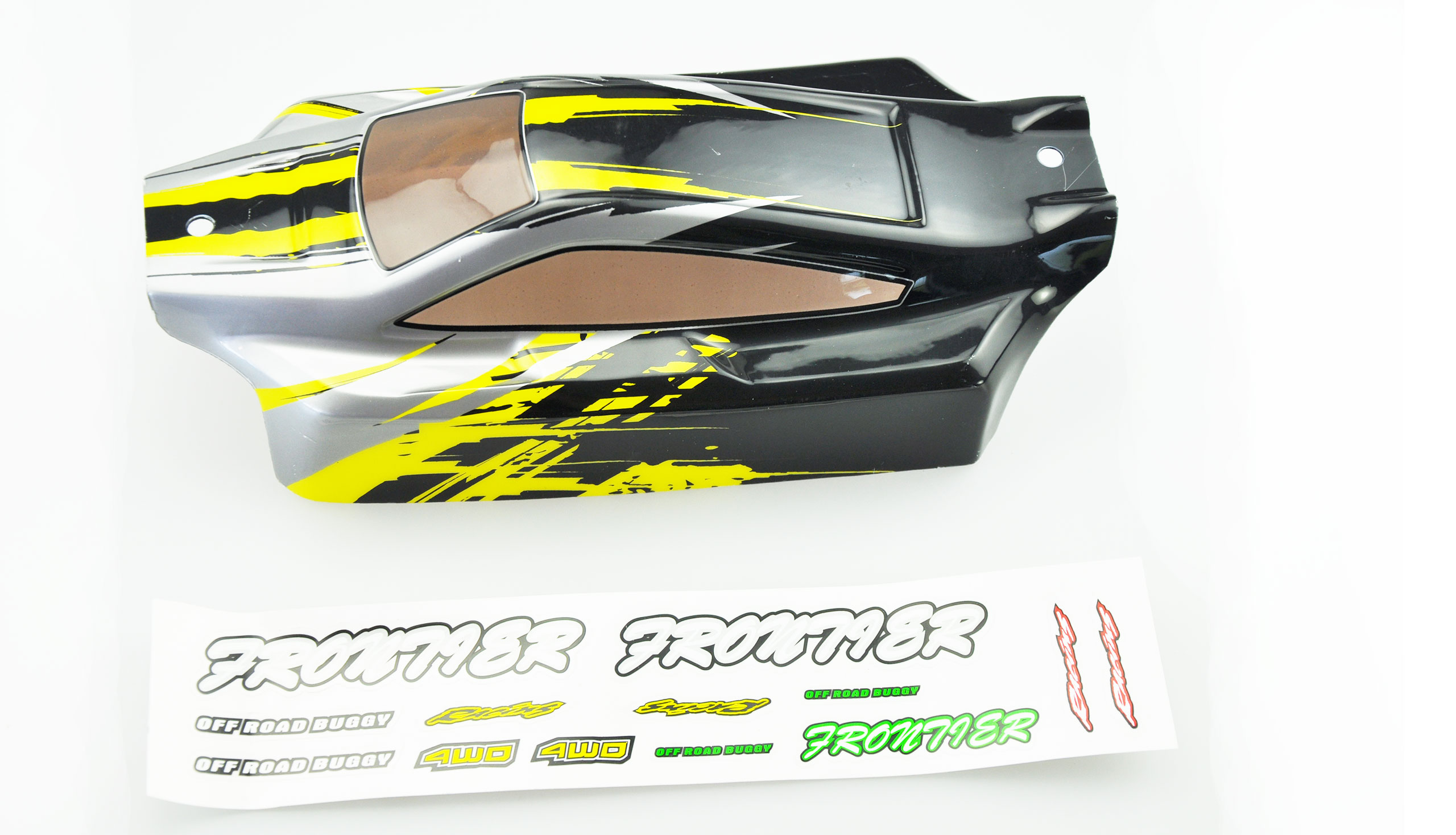 Off Road RC Cars Body (Yellow) ONE TEN