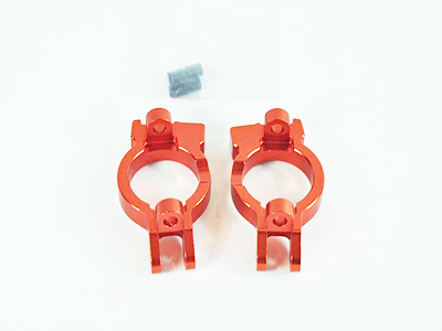 050005 C-Hub Aluminium orange 2 Stueck