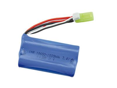 LI-ION AKKU 1500mAh S-Track / V2 Mini Tamiya plug