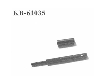 KB-61035 Welle fuer Rutschkupplung + Getriebe