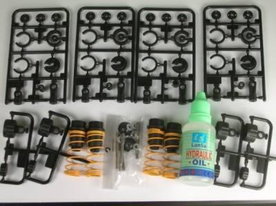 Öldruckstossdaempfer Bausatz 4 Stueck kurz
