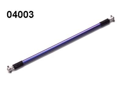 04003 mittlere Antriebswelle Aluminium