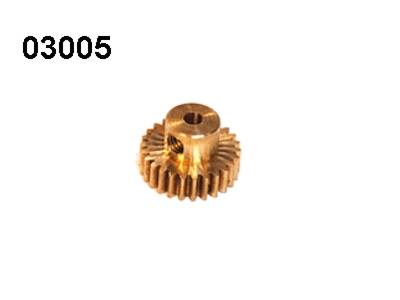 03005 Motorritzel 26 Zaehne Modul 0,6