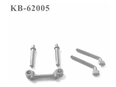 KB-62005 Karosseriehalter AM 10 ST, Set mit 5 Stueck
