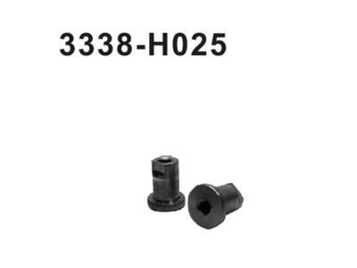 3338-H025 Buchse Ackermann Platte 2 Stueck