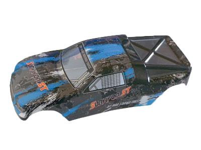 12686 Karosserie RC Cars blau EVO 4T