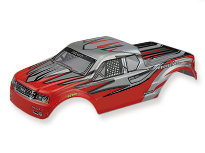 RC Cars Body RED S-TRack V2