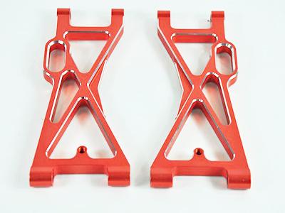 054002 Querlenker hinten unten Aluminium orange 2 Stueck