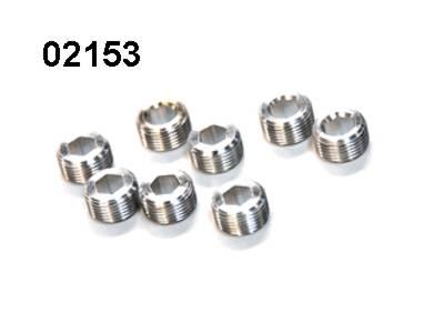 02153 Kugelkopf Mutter 8 Stueck