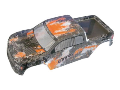 12687 Karosserie Truck orange EVO 4M