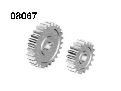 08067 Getriebezahnraeder 17- und 27 Zaehne