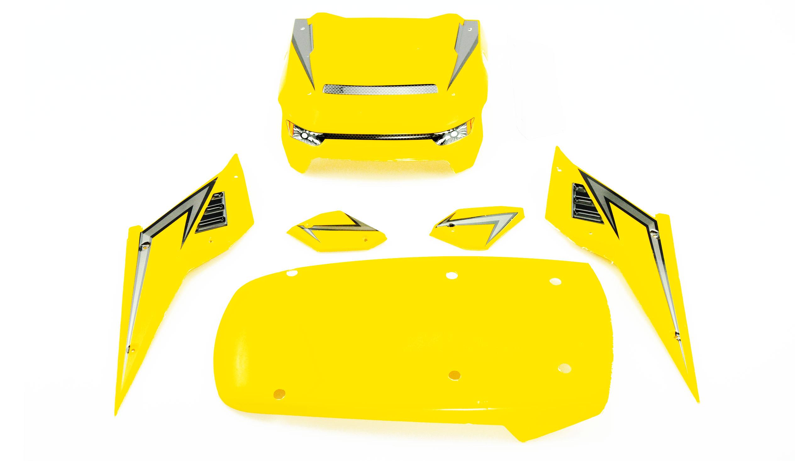 Karosserie Hammerhead gelb