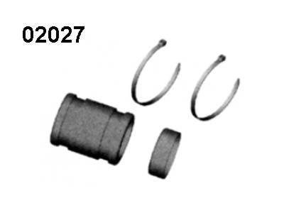 02027 Auspuff-Gummischlauch