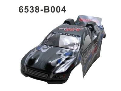 6538-B004 RC Cars Karosserie Schwarz