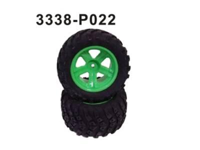 3338-P022 Komplettrad vorne/hinten 2 Stue