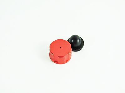 054021 Tankdeckel Aluminium orange