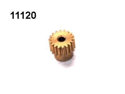 Motorritzel 18 Zaehne Modul 0,6