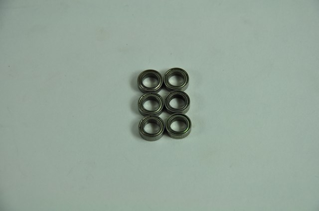 H028 Kugellager 6x10x3 mm 6 Stueck
