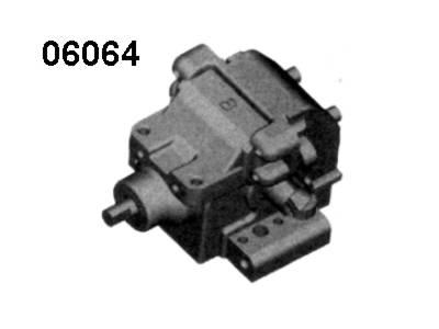 06064 Getriebe hinten komplett