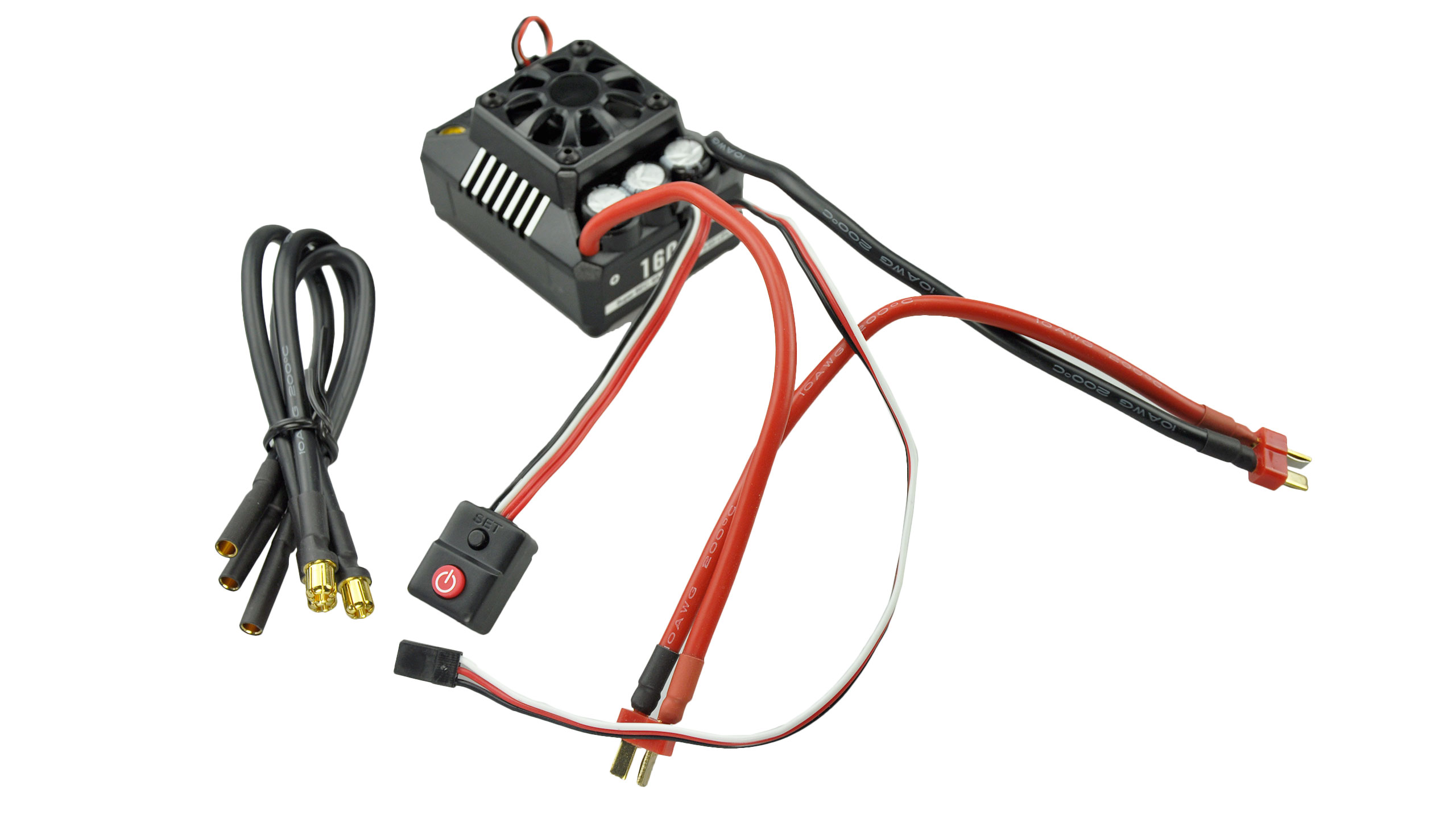 Hobbywing WP-6BL160-RTR Brushless Regler 160A