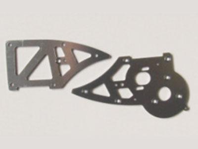 12211 Seitenplatinen B Aluminium