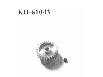 KB-61043 Motorritzel 21Z