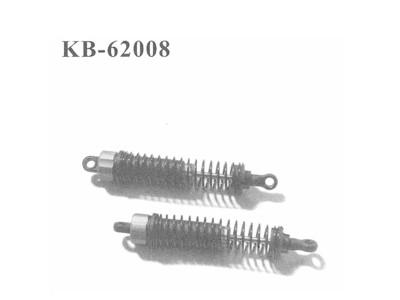 KB-62008 Daempfer hinten komplett