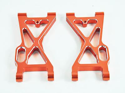 054001 Querlenker vorne unten Aluminium orange, 2 Stueck