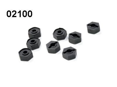 02100 Radmitnehmer 8 Stueck