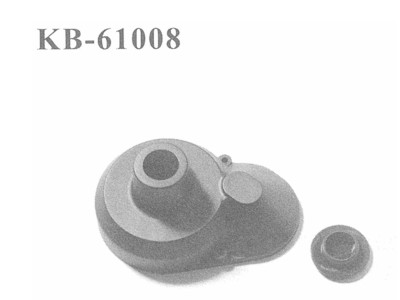 KB-61008 Gehaeuse fuer Hauptzahnrad