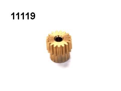 Motorritzel 17 Zaehne Modul 0,6