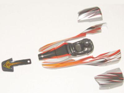 12040 Karosserie Set rot
